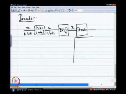 Mod-01 Lec-07 Optimal Decoders