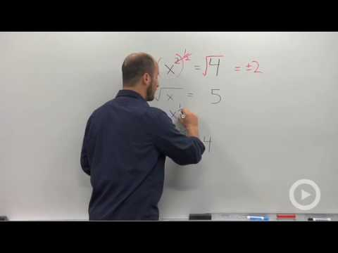 Algebra 2 - Solving an Equation with a Rational Exponent