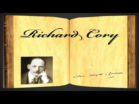Richard Cory by Edwin Arlington Robinson - Poetry Reading