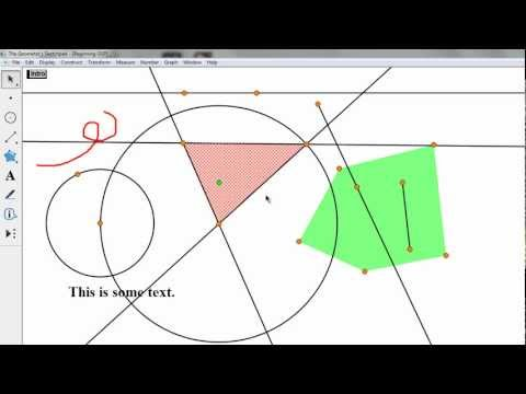 UnivHypGeom25: Geometer's Sketchpad and circles in Universal Hyperbolic Geometry