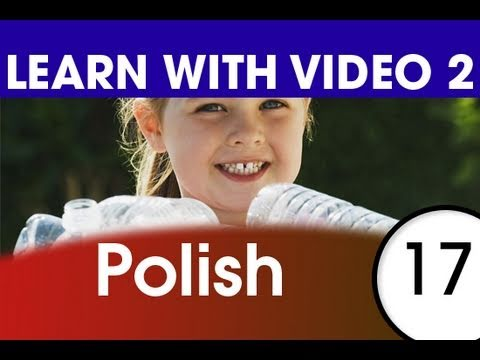 Learn Polish with Video - Polish Expressions That Help with the Housework 1