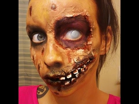 Halloween Series 2012: Rotting Zombie Makeup Tutorial