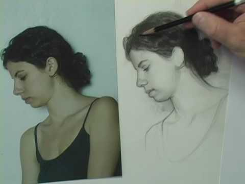 Drawing - Tutorials - Online - Shading Hair
