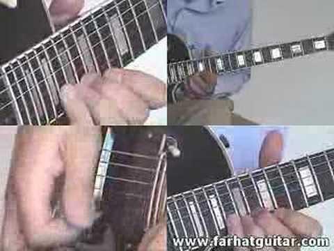 Bohemian Rhapsody queen solo  farhatguitar.com