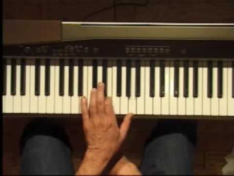 Piano Lesson - A Major Triad Inversions (Left Hand)