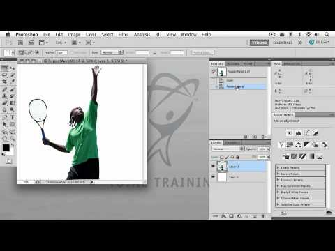 Adobe Photoshop CS5 Extended Advanced RETOUCHING & COMPOSITING  Using Puppet Warp
