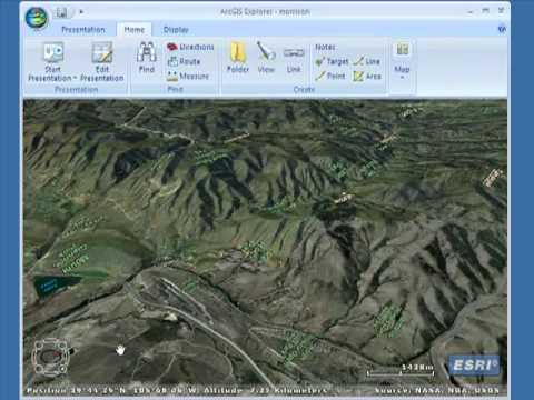 Analyzing Field Science Data using a 3D GIS