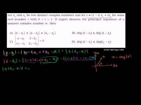 IIT JEE Complex Numbers (part 1)