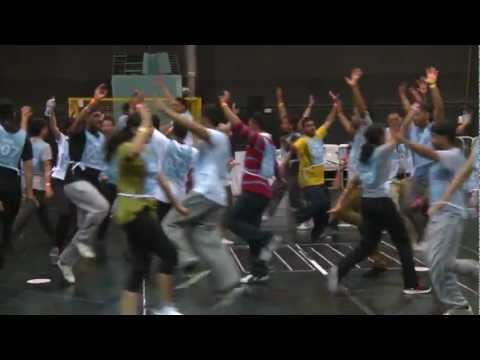 Behind-the-scenes: Bhangra rehearsals London 2012