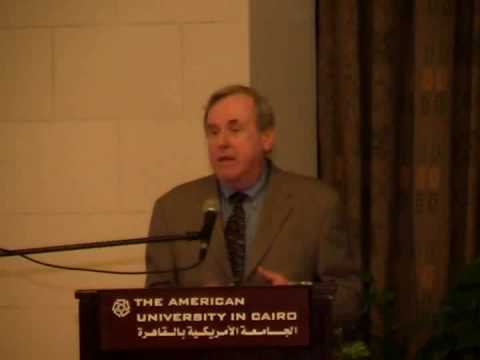 People of the Past lecture by Thomas Cahill at AUC