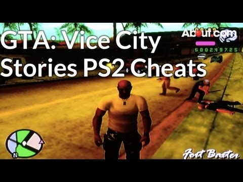 PS2 Cheat Codes for Grand Theft Auto: Vice City Stories
