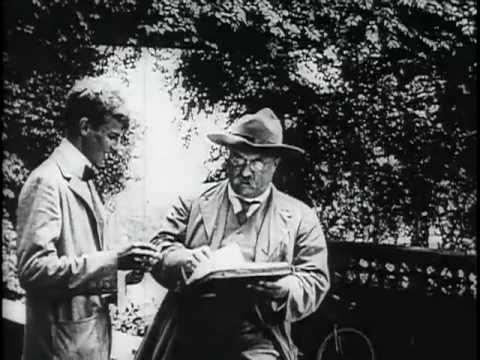 Scenes of Theodore Roosevelt at Sagamore Hill, 1912