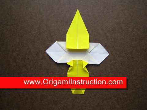 How to Fold Origami Bee - OrigamiInstruction.com