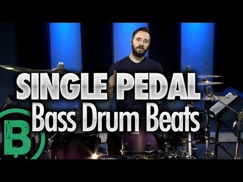 Heavy Metal Drum Beats - Single Pedal - Drum Lessons