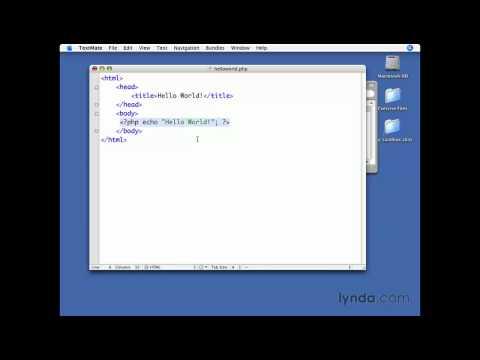 MySQL, PHP: ''Hello World!'' | lynda.com