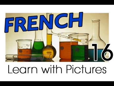 Learn French - French Study Subjects Vocabulary