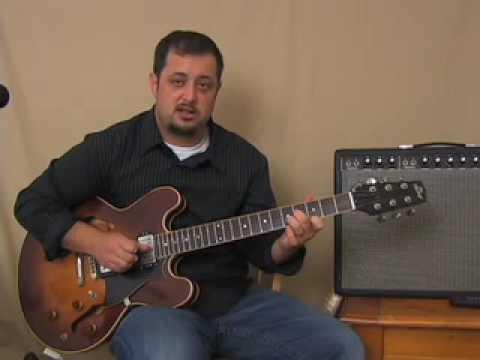 Triad Chords Guitar Lesson - D minor Shape