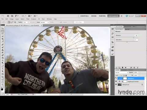 How to make color adjustments in Photoshop   lynda.com tutorial