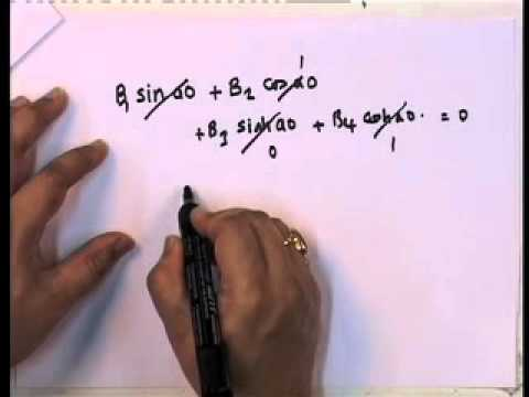 Mod-01 Lec-35 Free Vibration Response of Continuous Systems