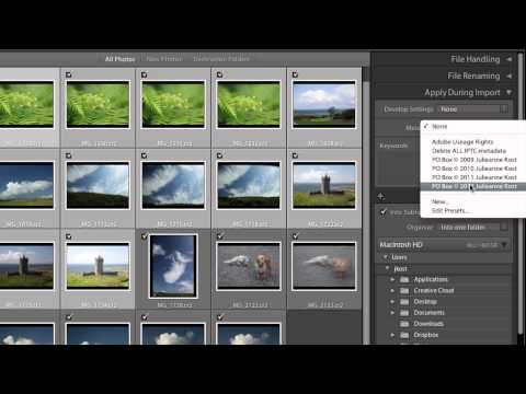 Lightroom 4: Importing and Organizing Your Images