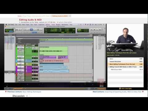 Pro Tools: Editing Audio & MIDI