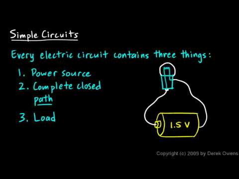 Physics 12.5.1a - Simple Circuits