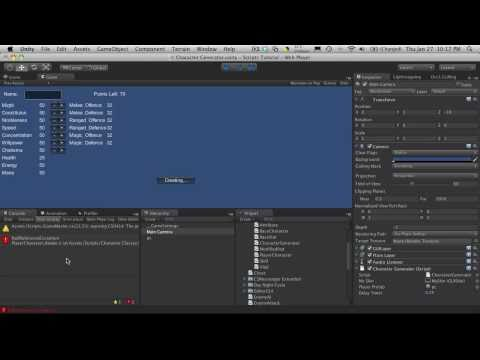 148. unity3d Tutorial - Setup From Scratch And Cleanup - Part 1