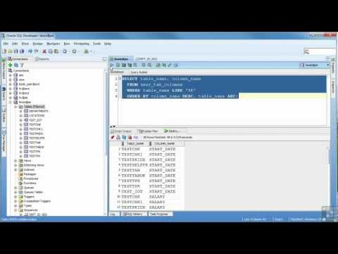 Oracle 11G Tutorial | The Select Statement | InfiniteSkills Training
