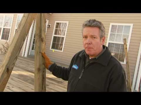 How to Build a Deck, Part 6: Installing Deck Railings, Balusters, Lattice and Skirting