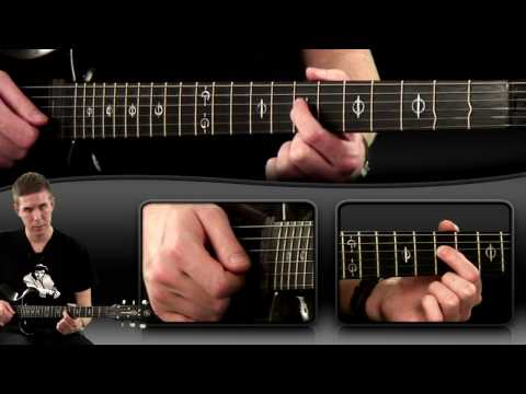 Guitar Lesson -  Sweep Picking Lick