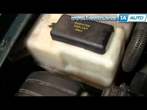 Auto Repair: How Do I Check or Add Radiator Coolant/Anti Freeze to My Car or Truck? - 1AAuto.com