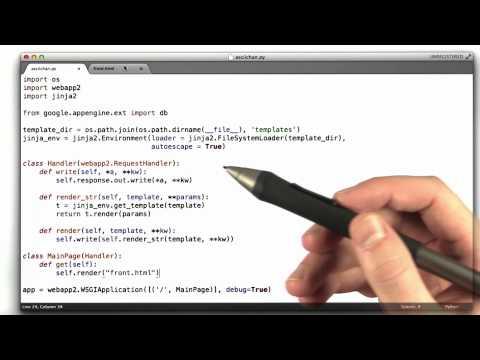 Creating The Form - CS253 Unit 3 - Udacity