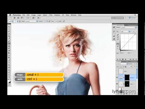 How to Photoshop clothes and hair | lynda.com tutorial