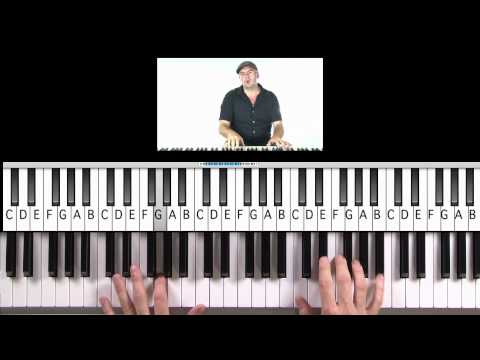 """How to Play """"Next 2 You"""" (Practice Cover) by Chris Brown and Justin Bieber on Piano"""