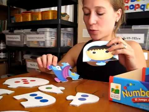 Toddler - Math. number puzzles