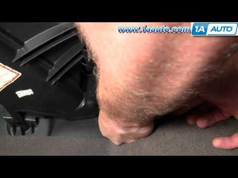 How To Install Replace AC Heater Fan Blower Motor Chrysler PT Cruiser 01-05 1AAuto.com