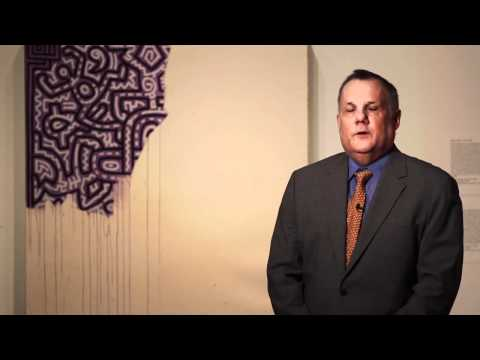 """Hide/Seek: """"Unfinished Painting"""" by Keith Haring"""