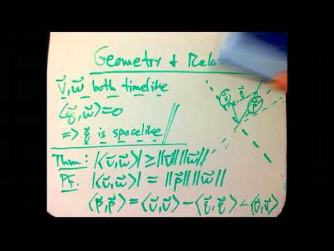 Geometry and Relativity (Part 5)
