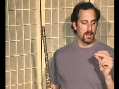 Flute Lesson & Song Demo - Danman Notation Library #5 Ode To Joy by Bach
