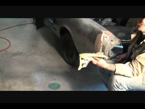 Automobile Restoration-How To Repair Your Quarter Panel Extention To Prefection. Part 3