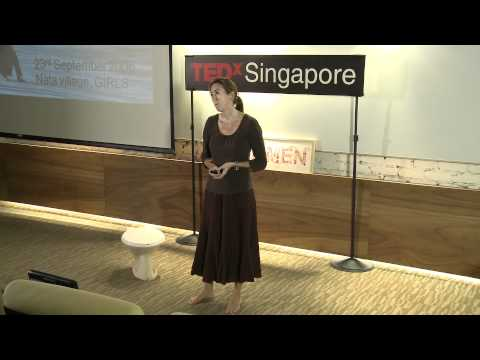 TEDxSingapore - NIkki Shaw - How building toilets is key to better lives