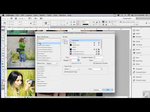 Adobe InDesign CS6 Tutorials | Finding and Changing Objects | InfiniteSkills