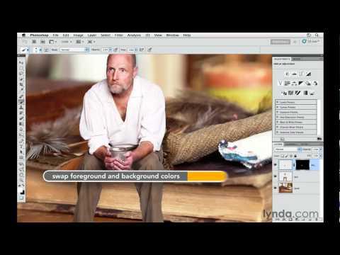 Photoshop tutorial: How to composite a person | lynda.com