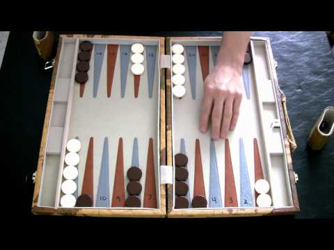 Beginner Backgammon Tutorial - 9 - Opening Moves