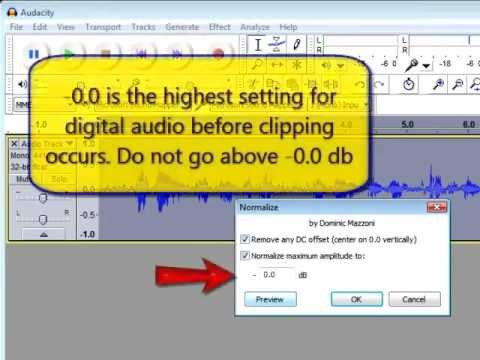 Audacity: Download, Install, Record, Edit