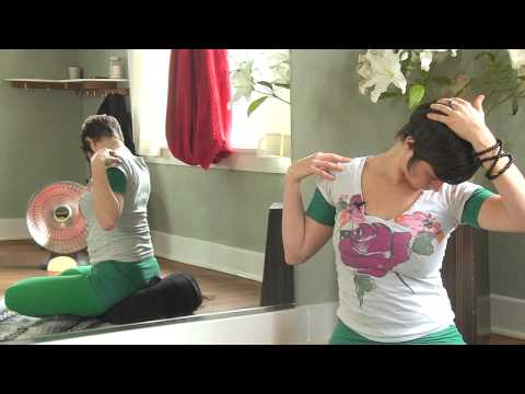 Neck Stretch Exercises For Pain, Tension & Stress Relief, Jen Hilman
