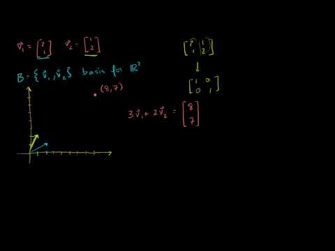 Linear Algebra: Coordinates with Respect to a Basis