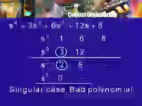 Lec-34 Singular Cases