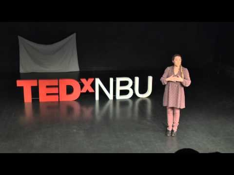 TEDxNBU - Anna Pampulova - The language of our body