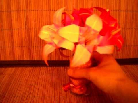 Origami:  The Iris